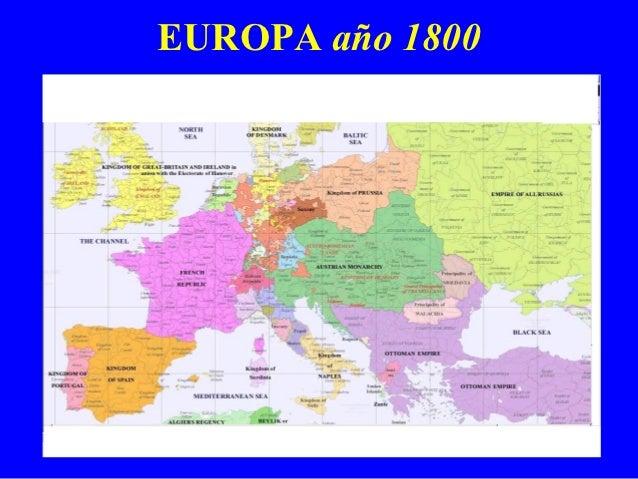 Mapa europa ao 1 al 2000