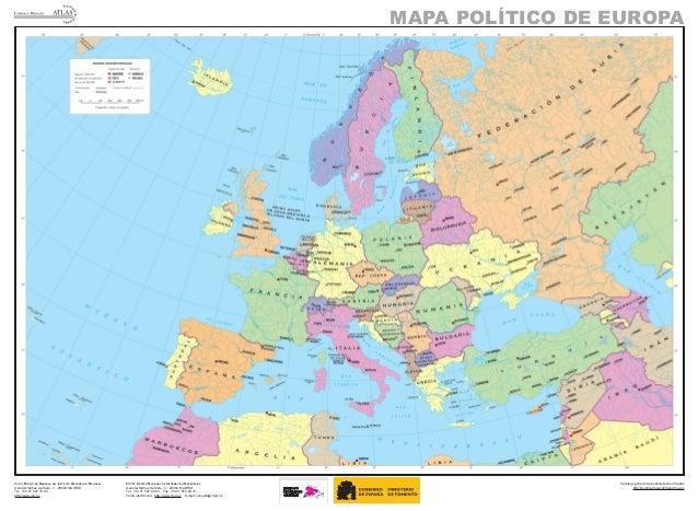 Mapa De Europa Politico.Mapa Europa Politico