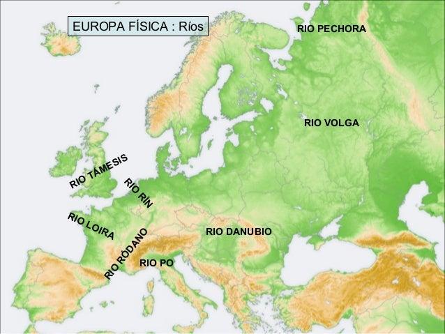 Worksheet. Mapa fsico de Europa