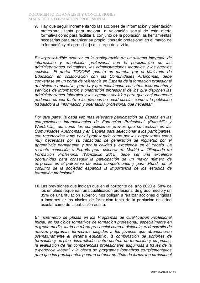Calendario Escolar Galicia 2020 19.Mapa De La Oferta De La Formacion Profesional En Espana 2011