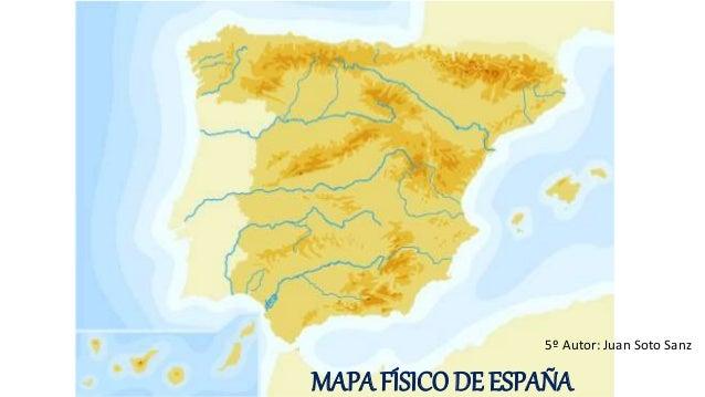 Sistemas Beticos Mapa Fisico.Mapa Fisico De Espana