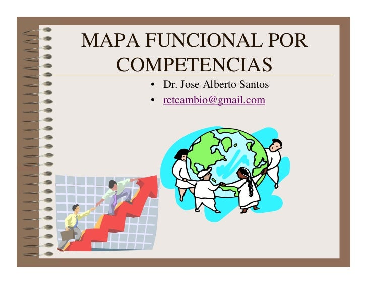 MAPA FUNCIONAL POR  COMPETENCIAS     • Dr. Jose Alberto Santos     • retcambio@gmail.com