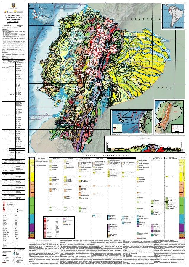 Mapa Geologico De Ecuador