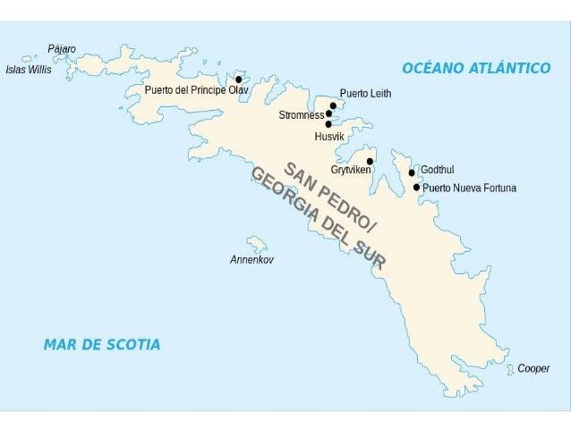 Georgia Del Sur Mapa.Mapa Georgia Del Sur