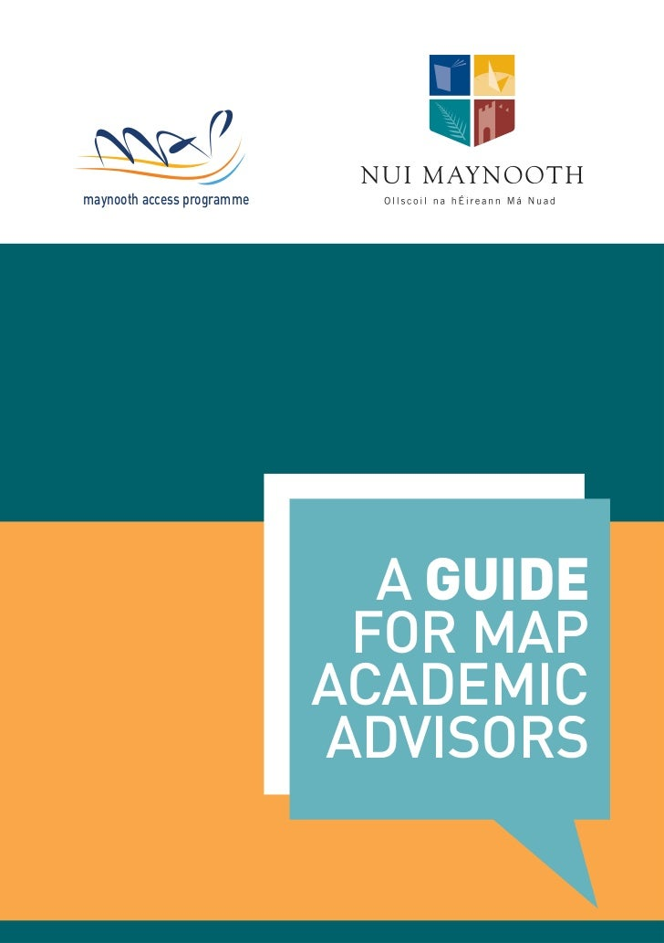 maynooth access programme                              A GUIDE                             FOR MAP                        ...