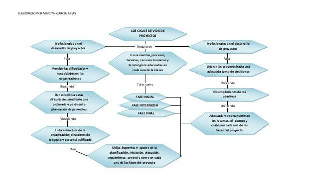 ELABORADO POR MARLYN GARCIA ARIAS LOS CICLOS DE VIDA DE PROYECTOS Requieren Profesionales en el desarrollo de proyectos Pe...