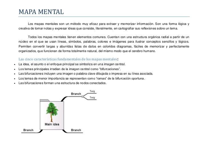 MAPA MENTAL           Los mapas mentales son un método muy eficaz para extraer y memorizar información. Son una forma lógi...