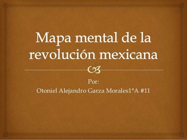 Por:  Otoniel Alejandro Garza Morales1°A #11