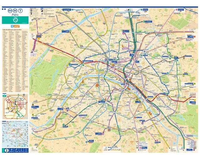Mapa metro parís