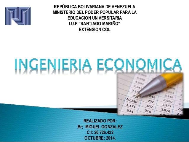 "REPÚBLICA BOLIVARIANA DE VENEZUELA  MINISTERIO DEL PODER POPULAR PARA LA  EDUCACION UNIVERSITARIA  I.U.P ""SANTIAGO MARIÑO""..."