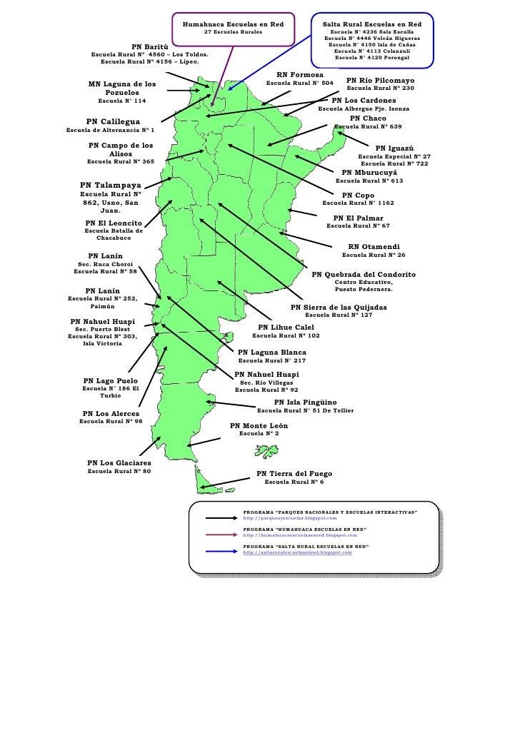 Humahuaca Escuelas en Red                    Salta Rural Escuelas en Red                                        27 Escuela...