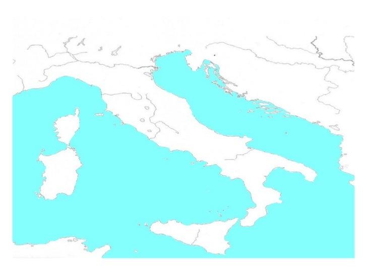 Mapa De Italia Mudo.Mapa Mudo Italia