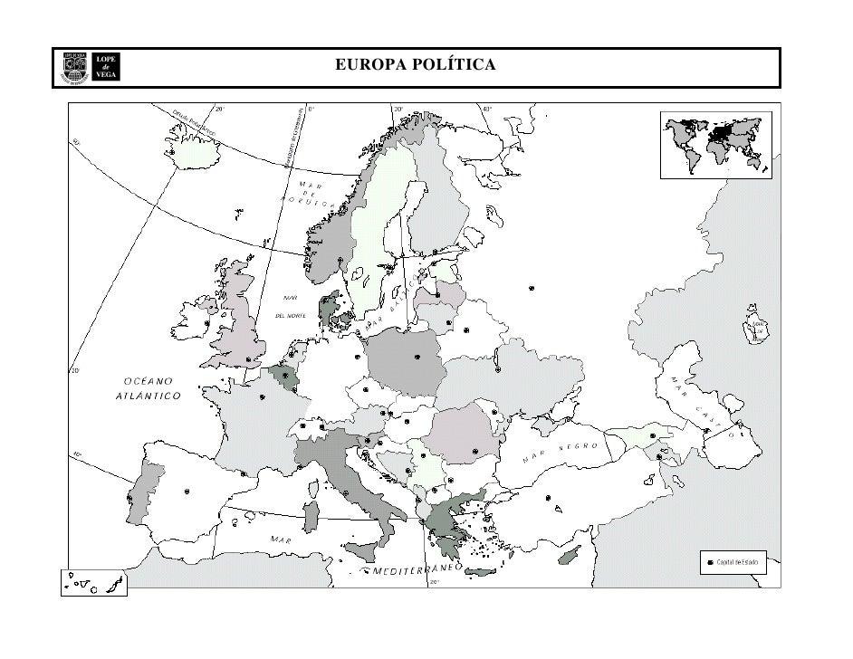Mapa Mudo Fisico Europa Pdf.Mapa Mudo Politico Europa