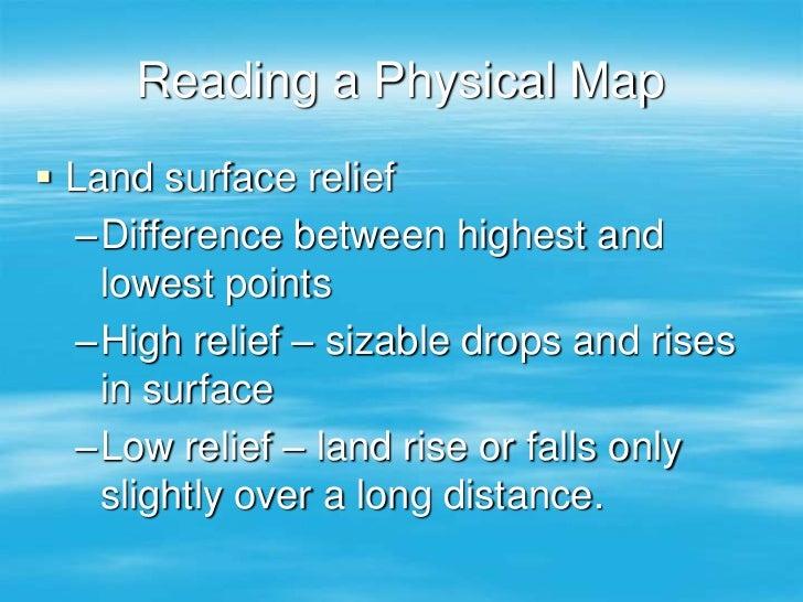 Map and globe skills