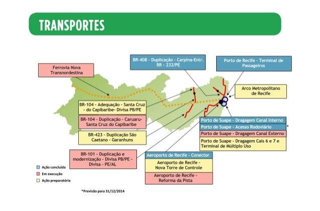 FerroviaNova Transnordestina BR-408–Duplicação–Carpina-Entr. BR-232/PE PortodeRecife–Terminalde Passageiros BR-104–Duplica...