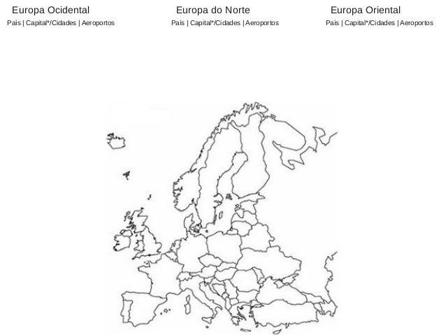 mapa europa em branco Mapas em branco para estudo mapa europa em branco