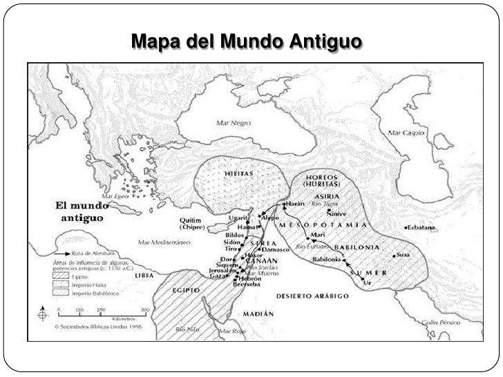 Mapas antiguo y nuevo testamento