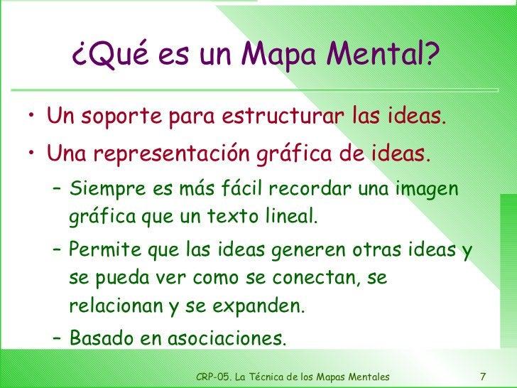 ¿Qué es un Mapa Mental? <ul><li>Un soporte para estructurar las ideas. </li></ul><ul><li>Una representación gráfica de ide...