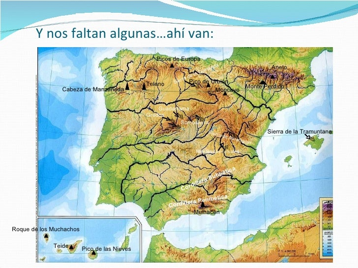 Ejercicios para localizacin  Mapas Espaa