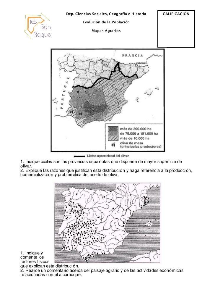 Mapas agrarios