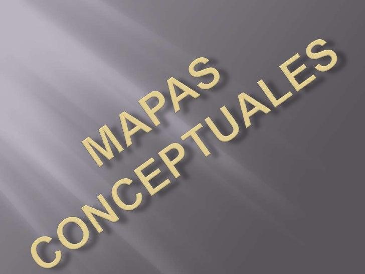 Mapas conceptuales<br />