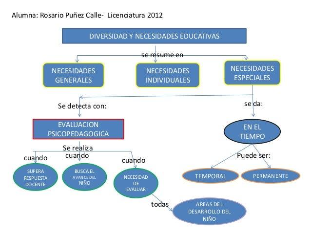 Alumna: Rosario Puñez Calle- Licenciatura 2012                         DIVERSIDAD Y NECESIDADES EDUCATIVAS                ...