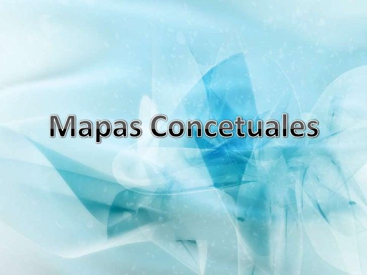 Mapas Concetuales<br />