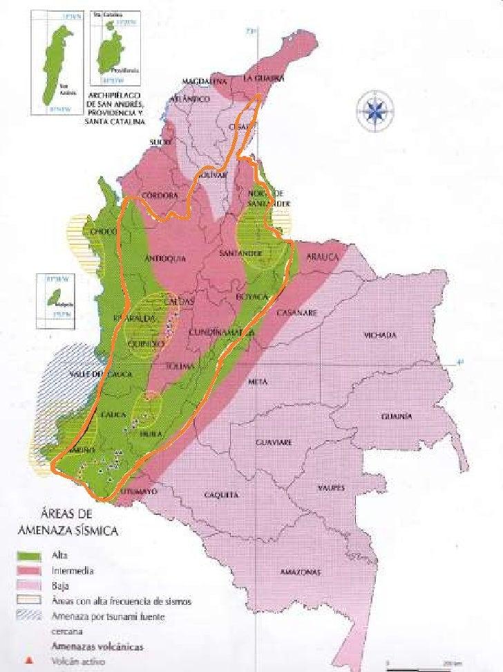 Mapas con sus descripciones