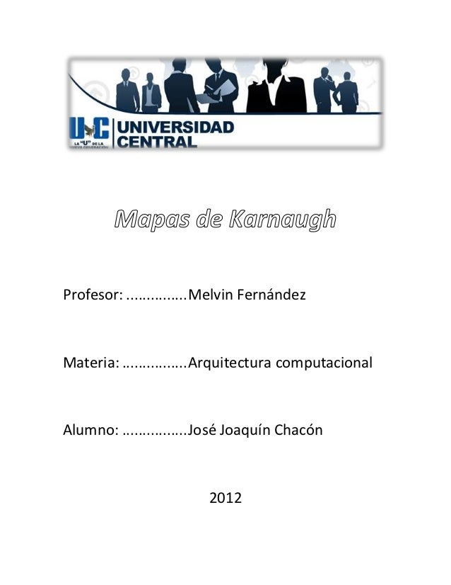 Profesor: ............... Melvin FernándezMateria: ................ Arquitectura computacionalAlumno: ................ Jos...