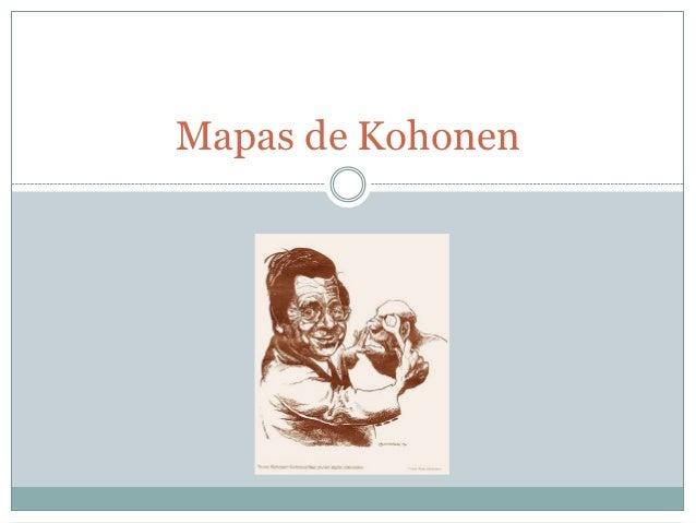 Mapas de Kohonen
