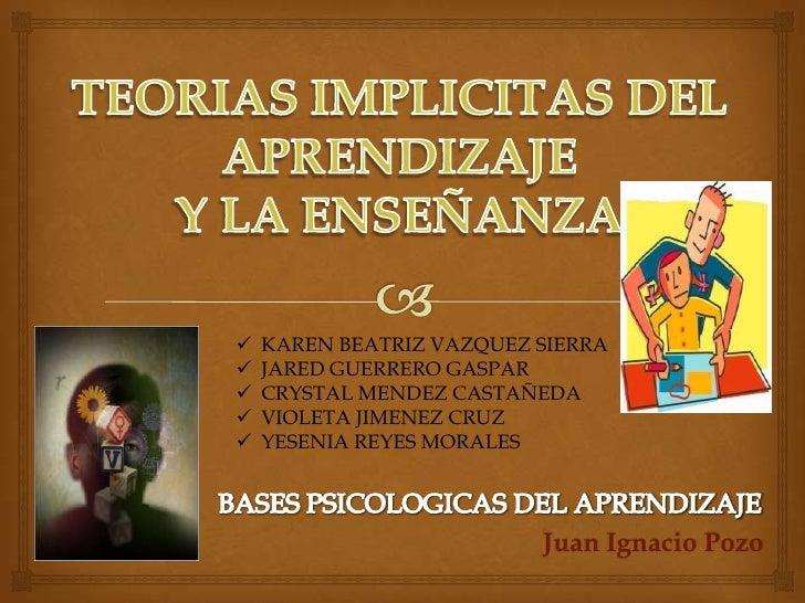    KAREN BEATRIZ VAZQUEZ SIERRA   JARED GUERRERO GASPAR   CRYSTAL MENDEZ CASTAÑEDA   VIOLETA JIMENEZ CRUZ   YESENIA R...