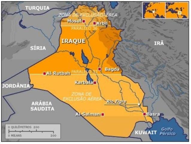Mapas do iraque