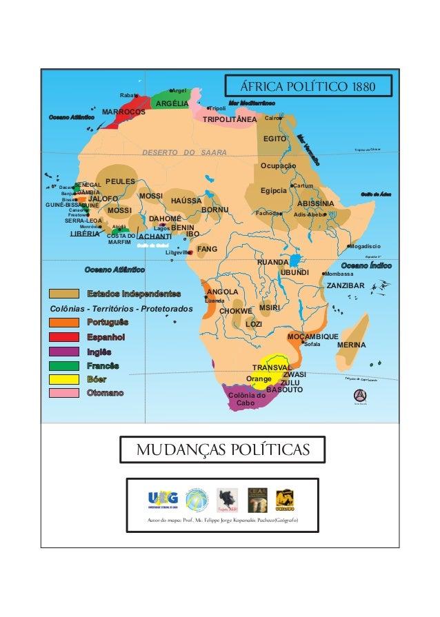 Mapas Historia da Africa UEG GOBR