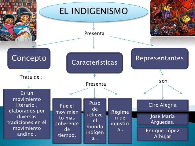 EL INDIGENISMO                                Presenta Concepto                                              Representante...