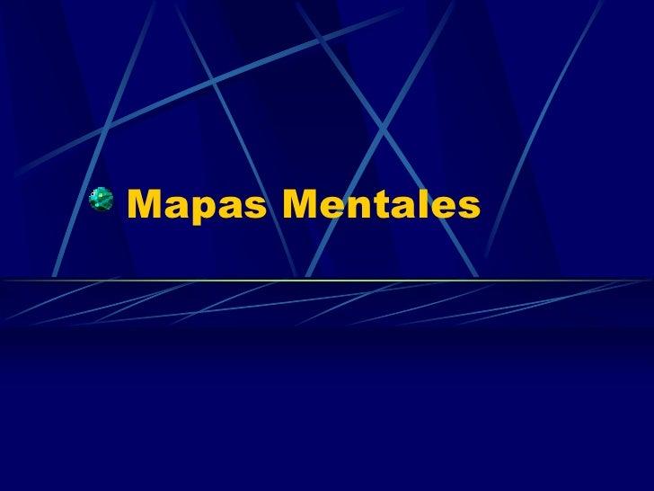 Mapas Mentales<br />