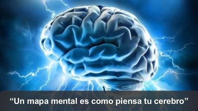 """""""Un mapa mental es como piensa tu cerebro"""""""