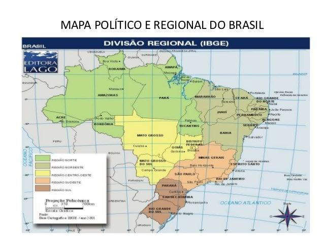 Mapas polticos e geogrficos do brasil