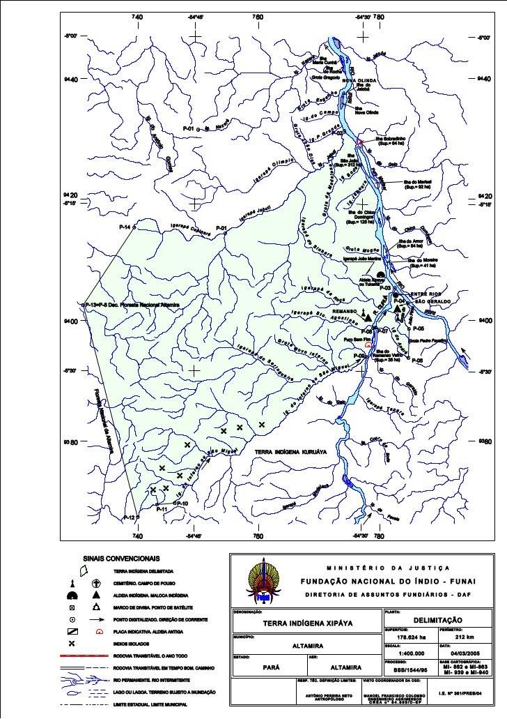 Mapa xipaya