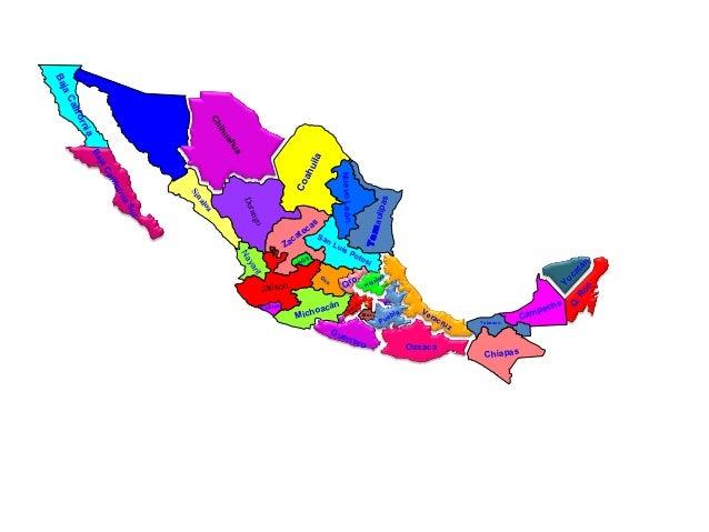 Edo de Mex Mor. D . F Durango Jalisco Michoacán Guerrero Oaxaca Sonora Chihuahua Sinaloa BajaCalifornia BajaCaliforniaSur ...