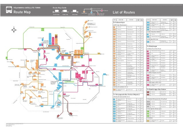 Bmtc Bus Routes And Numbers Pdf