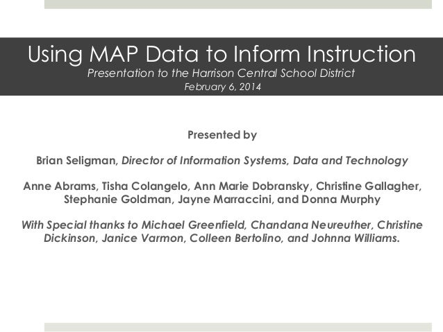 Presented by Brian Seligman, Director of Information Systems, Data and Technology Anne Abrams, Tisha Colangelo, Ann Marie ...