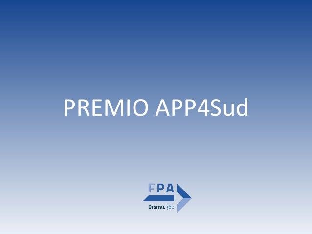 PREMIOAPP4Sud