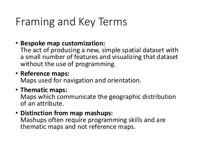 bespoke map customization behavior and its implications for the desig u2026
