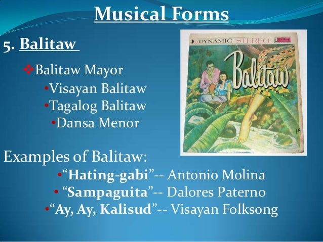 Balitaw lyrics