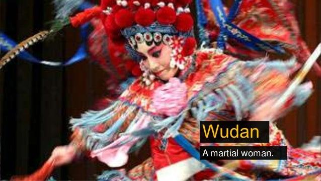 Wudan A martial woman.