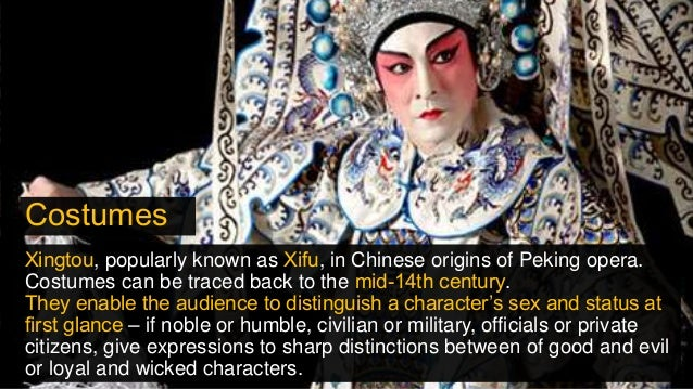 642a3f18c Costumes Xingtou, popularly known as Xifu, in Chinese origins of Peking  opera.