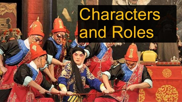 Characters and Roles