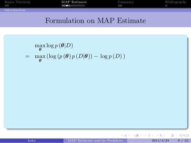 map estimation introduction
