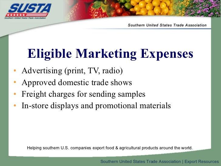 Export plan guidline