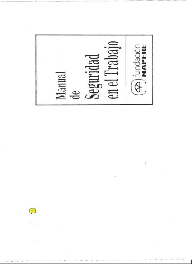 Mapfre manual de seguridad en el trabajo